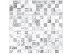 Мозаика Extra серый+белый 30х30