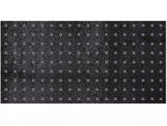Плитка Декор Metallica Pixel чёрный 25х50