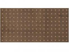 Плитка Декор Metallica Pixel коричневый 25х50