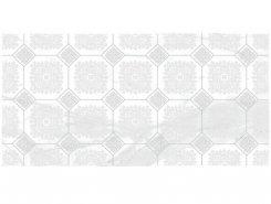 Плитка Декор Olimpus Grand белый 25х50