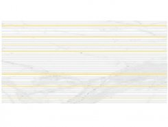 Плитка Декор Olimpus Race белый 25х50