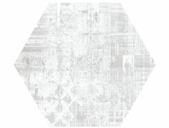 Плитка Hex 25 Skyline White (Mix) 25x22
