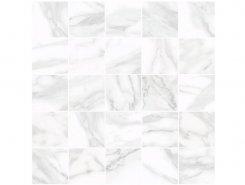 Плитка MM34037 Декор Olimpus мозаичный белый 25х25