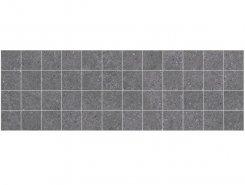 Плитка MM60109 Декор Mason мозаичный чёрный 20х60