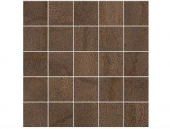 Плитка Мозаика MM34035 Декор Metallica мозаичный коричневый 25х25