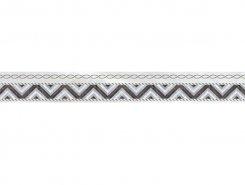 Плитка Бордюр Prime серый микс 6х50