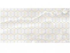Плитка Декор Prime белый 25х50