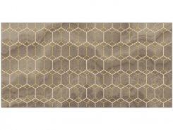 Плитка Декор Prime коричневый 25х50