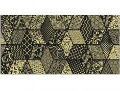 Плитка Декор Tabu Bomond чёрный 30х60