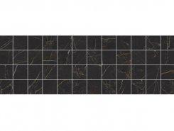 Плитка MM60074 Royal Декор мозаичный чёрный 20х60