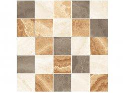 Плитка Мозаика MM34039 Декор Prime мозаичный бежевый микс 25х25