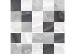 Плитка Мозаика MM34040 Декор Prime мозаичный серый микс 25х25