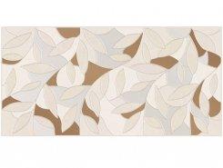 Плитка Serenity Folium Декор кремовый 08-03-37-1350 20x40