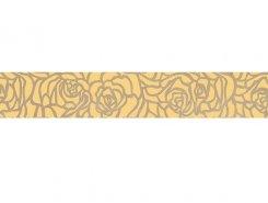Плитка Serenity Rosas Бордюр коричневый 66-03-15-1349 6х40