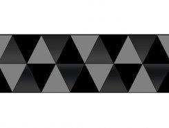 Плитка Sigma Perla Декор чёрный 17-03-04-463-0 20х60