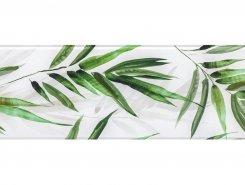 Плитка Декор Glass Tropic A 25x75 (маленькие листья)