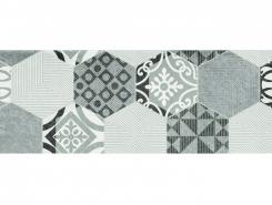 Плитка Декор Portis Hexagons 25x75
