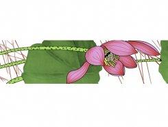 Плитка Lotus Listello 10x45