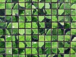 Плитка Lotus Mosaico Verde 30x30