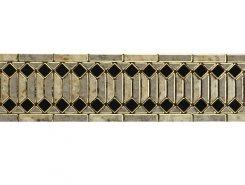 Плитка Rimini Listello Gris 15x60
