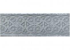Плитка Бордюр Empyreal Light grey 30х10