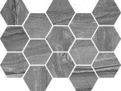 Плитка Мозаика Eos Argent Hexagon 32,5x22,5