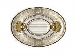 Плитка Вставка Medallon Leonora Oro-Beige 14x10