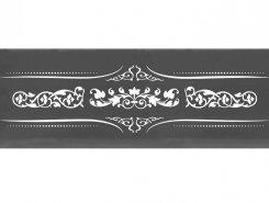 Плитка Decor Versalles Black Silver Blanco 10x30