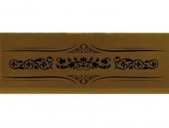 Плитка Decor Versalles Gold Negro 10x30