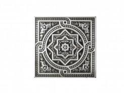 Плитка Plox Satined Black Silver 1386 Beni-Mamet 6x6