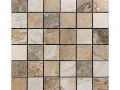 Mosaico Dolomite Multicolor (5x5) 30x30