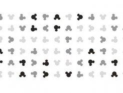 Плитка Плитка Disney Mini Ears R3060 Black 30X60