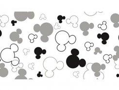 Плитка Плитка Disney Ears R3060 Black 30X60