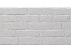 Плитка Wall Brick White 30X90