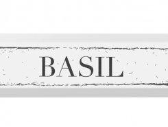 Декор NT/B36/2882 Bazil черный 8,5*28,5