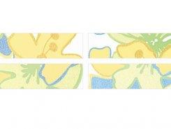 Бордюр B7147/2/11000 Зимний сад бордюр 30x7,2