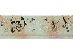 Плитка Cadoro Wall RAMAGE BORDER PEARL WHITE GLOSSY 10x30