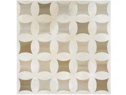 Плитка Camelia 511 Floor DECOR CAPPUCINO&PEARL WHITE LAPPATO 60x60