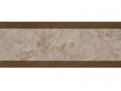 Плитка Incanto 572 Wall FLORAL DECOR BROWN GLOSSY 30x90