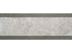 Плитка Incanto 572 Wall FLORAL DECOR GREY GLOSSY 30x90