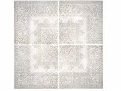 Плитка Нап. панно Roseton Gotico White 120x120