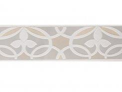 Плитка Camelia 511 Wall BORDER PEARL WHITE GLOSSY 7.5x30