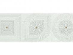 Плитка Wall GEOMETRIC DECOR OFF WHITE GLOSSY 30x90