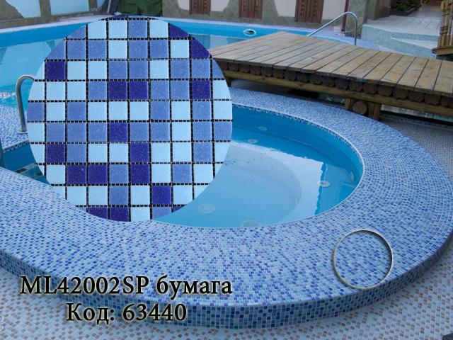 Фото в интерьере мозаики для бассейна