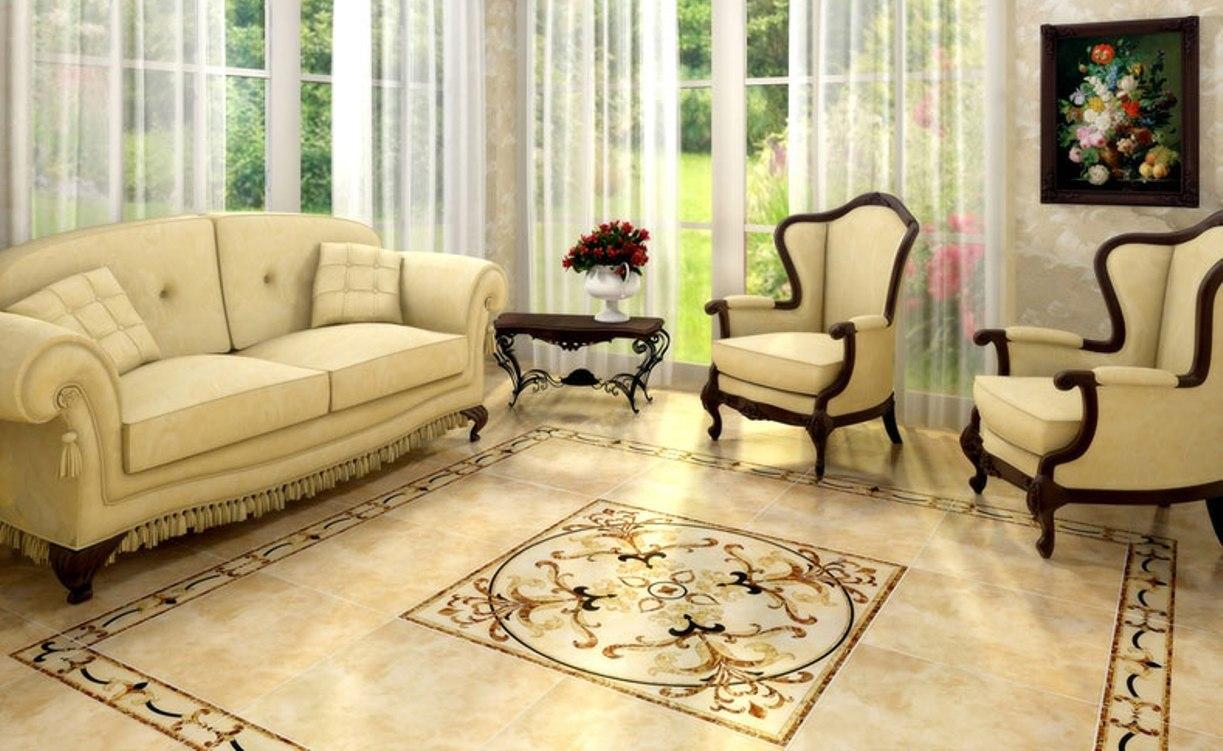 Картинки плитки в гостиной